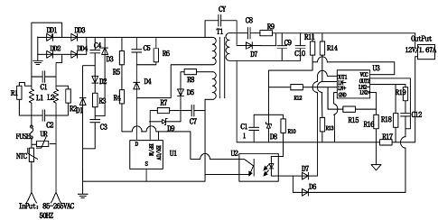 基于TNY279的LED驱动电源电路设计