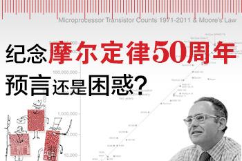 纪念摩尔定律50周年,预言还是困惑?
