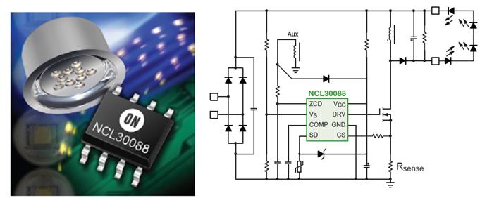 安森美半导体高能效AC-DC LED通用照明方案