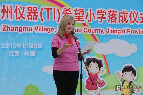 德州仪器(TI)希望小学 在江西省兴国县落成并投入使用