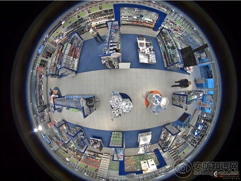 全景监控摄像机的应用分析