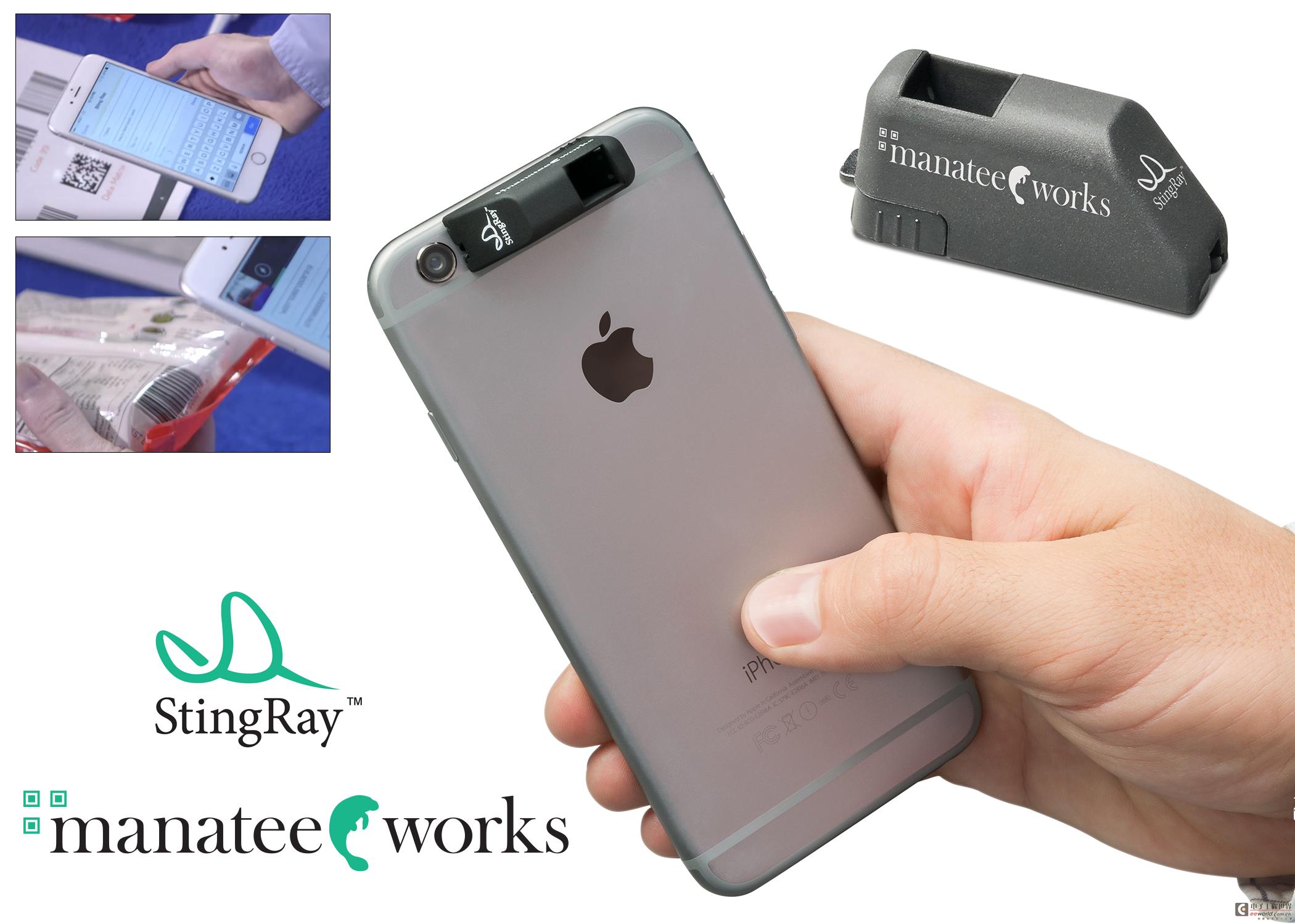 康耐视推出适用于移动设备的StingRay 连接式条码扫描配件