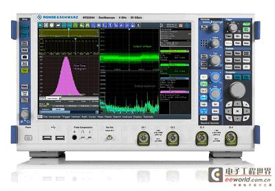罗德施瓦茨推出全新 RTO2000 数字示波器