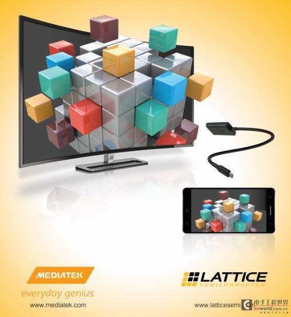 莱迪思半导体和MediaTek携手推出USB Type-C 4K视频解决方案
