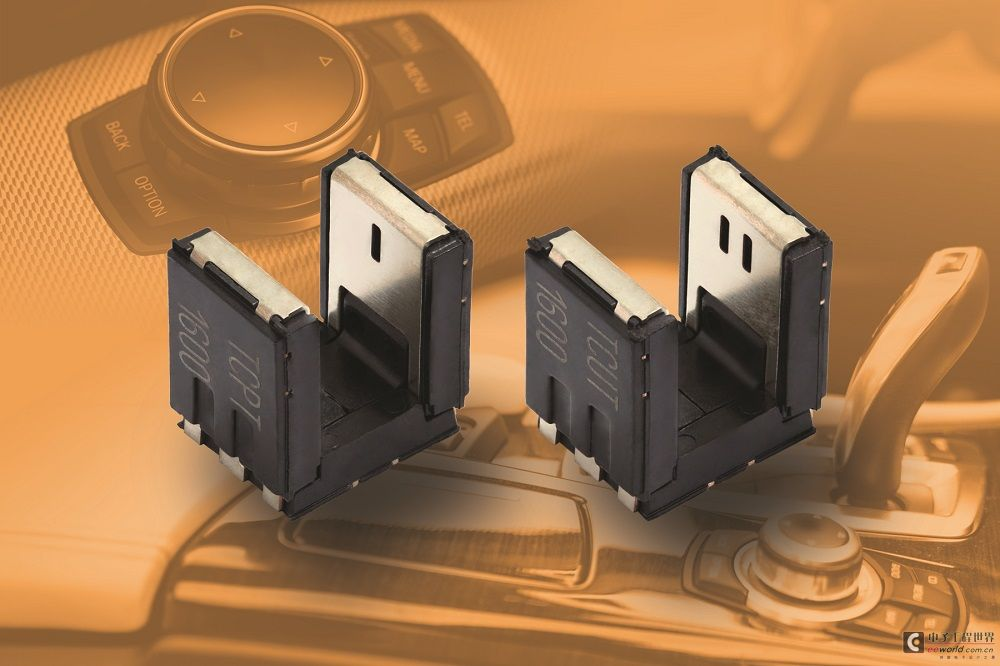 Vishay发布用于汽车和工业的高圆顶透射式光传感器