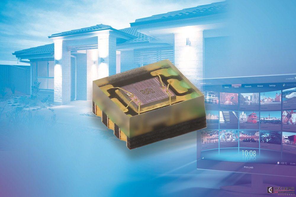 Vishay推出應用于消費電子產品的環境光傳感器