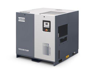阿特拉斯科普柯扩展GHS VSD+系列螺杆真空泵至1900立方米/时