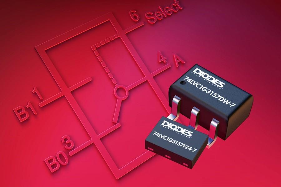 Diodes 公司模拟SPDT开关具有低 Ron特性