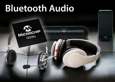Microchip推出新一代双模式蓝牙®音频产品