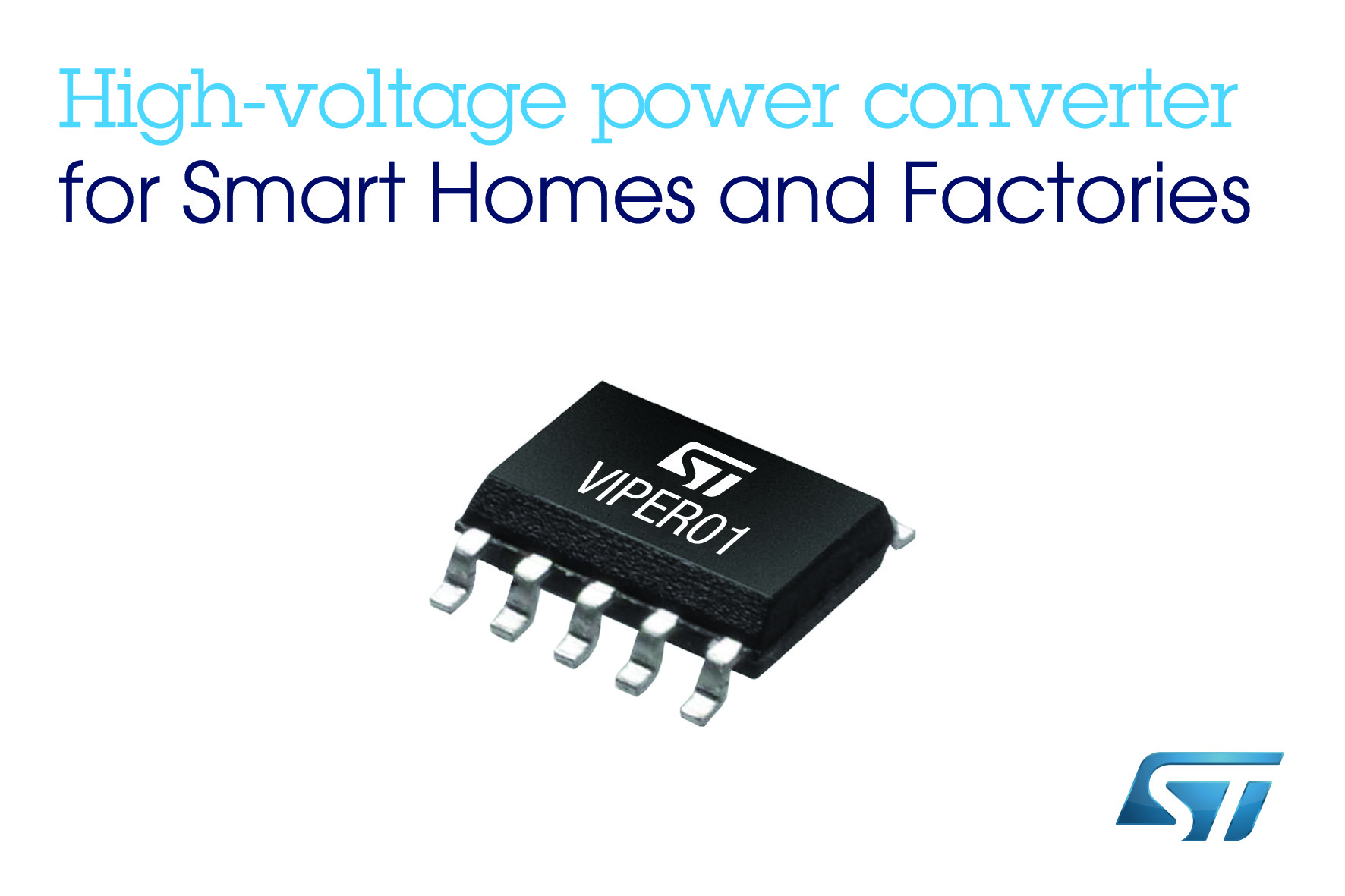 ST高压转换器让智能家居和工业用电源实现超低功耗