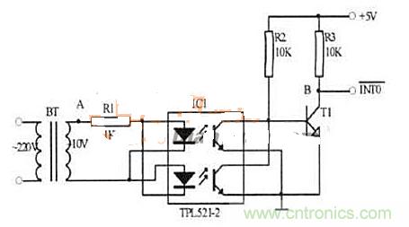 图1过零检测电路