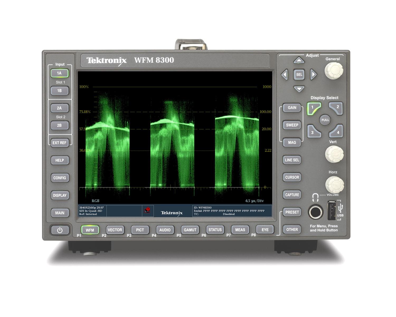 泰克在业内领先的波形监测仪中新增HDR和WCG支持