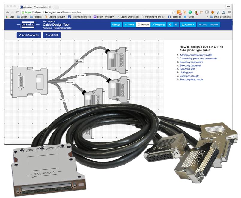 Pickering公司发布全新线缆设计工具