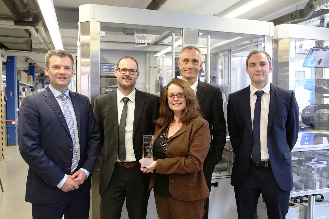 SCHURTER向RS Components颁奖 表彰其精彩销售业绩