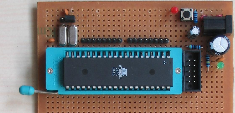 2.自制单片机之二------AT89S51最小系统制做 - 哥只是传说 - 我只是一个传说