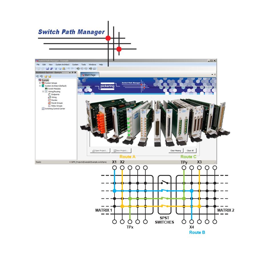 Pickering Interfaces 隆重发布面向电子测试的信号路由管理软件