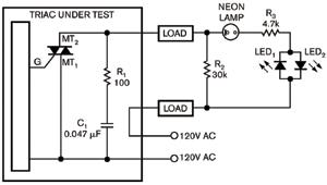 图3对于感性负载增加一个氖灯来尽量减少泄漏电流