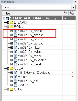 STM32 之 ADC_DMA - wanghengzhi@126 - 代码豆子
