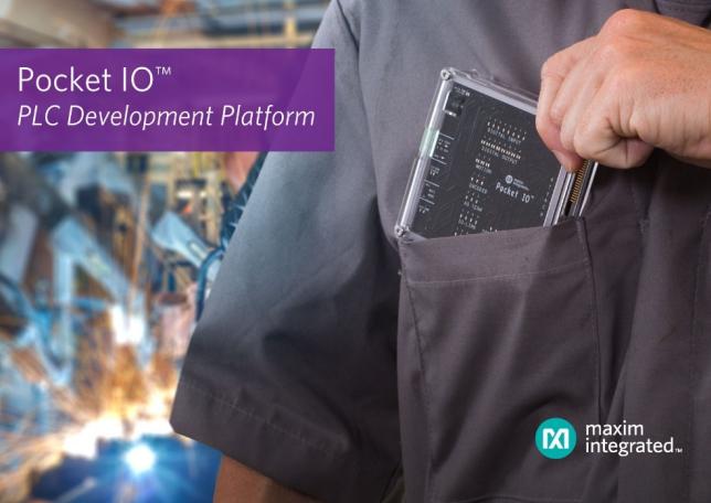 Maxim最新Pocket IO PLC开发平台,全面提速工业4.0生产