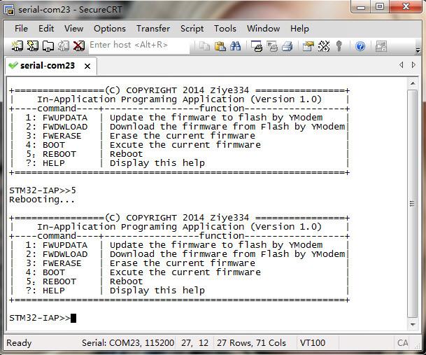STM32串口IAP(YModem) - ziye334 - ziye334的博客
