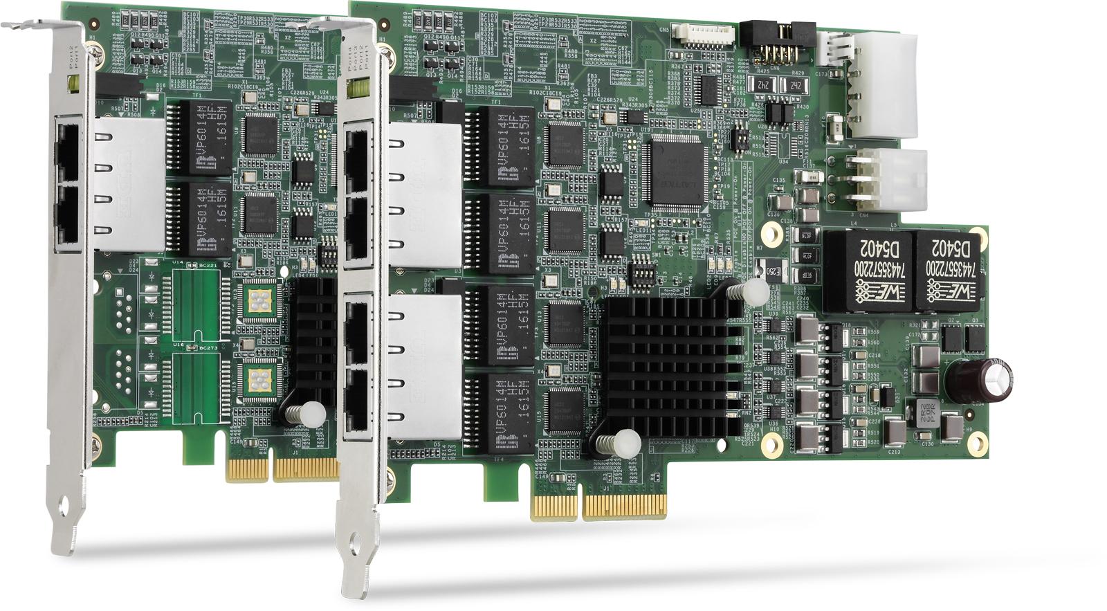 凌华科技发布PCIe-GIE72/74 GigE Vision PoE+图像采集卡
