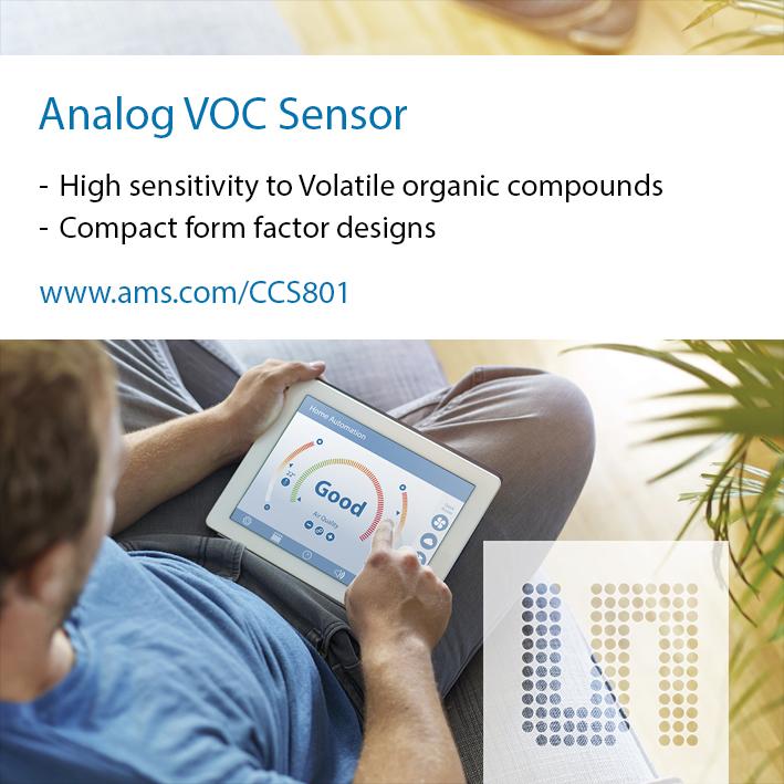 艾迈斯半导体推出新型环境传感器套件