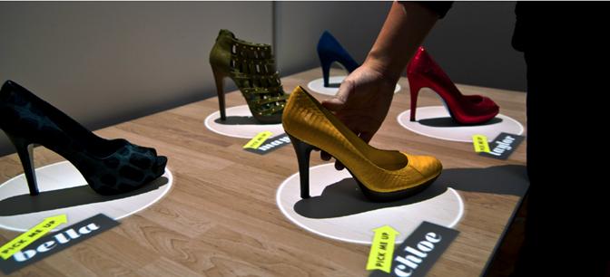交互式显示正在改变零售体验
