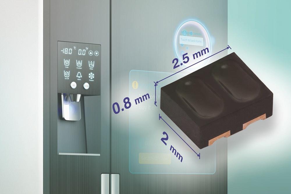Vishay专门用于智能家居、工业和办公设备的反射式光传感器