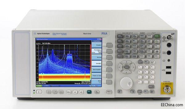安捷伦高性能 PXA 信号分析仪新增实时频谱分析功能