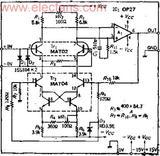 用双晶体管实现低噪声化的测量用高速前置放大器