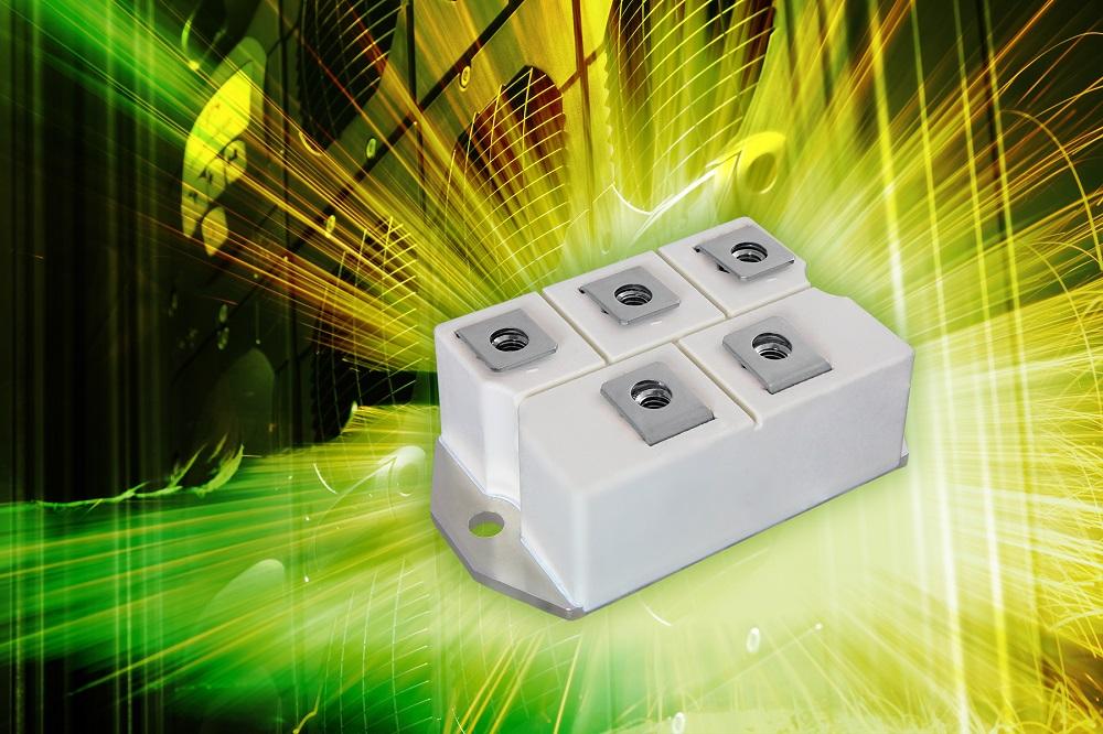 Vishay推出针对工业应用的新款三相桥式电源模块