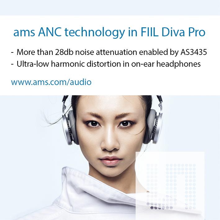 FIIL Diva Pro 耳机获创新大奖,艾迈斯降噪技术功不可没