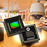 用于高端安防摄像应用的高性能510万像素成像方案