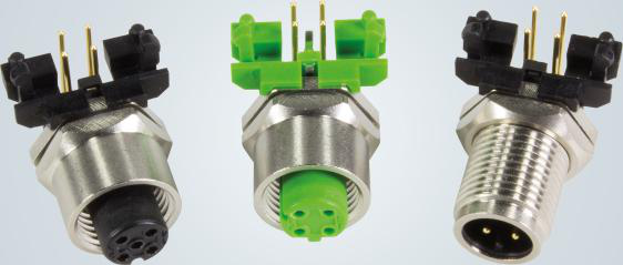 采用圆形连接器接入紧凑型开关