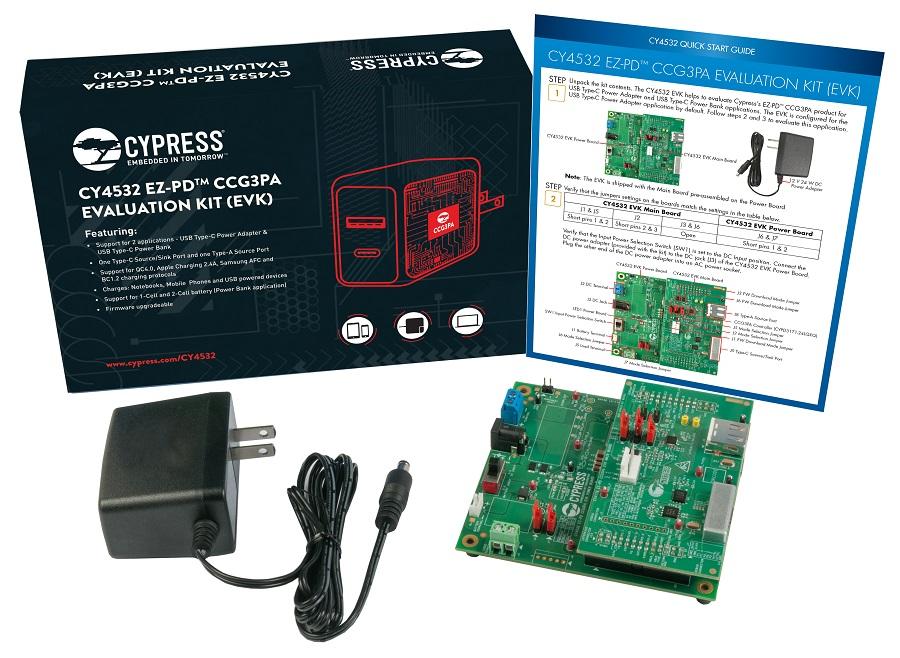 赛普拉斯推出全新高集成度控制器