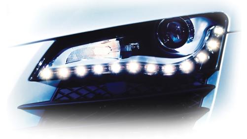 LED 控制发挥日行灯最大效益