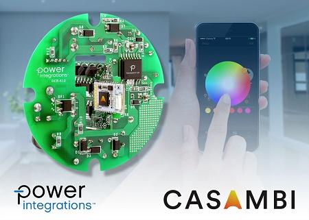 PI与Casambi联合推出调光调色智能照明参考设计