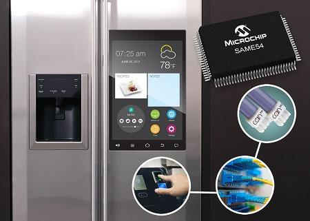 Microchip推出两款具有多种连接接口的SAM单片机系列新品