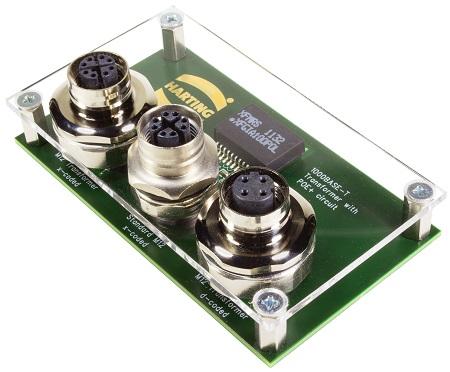 连接器上的强劲变压器:M12 Magnetics