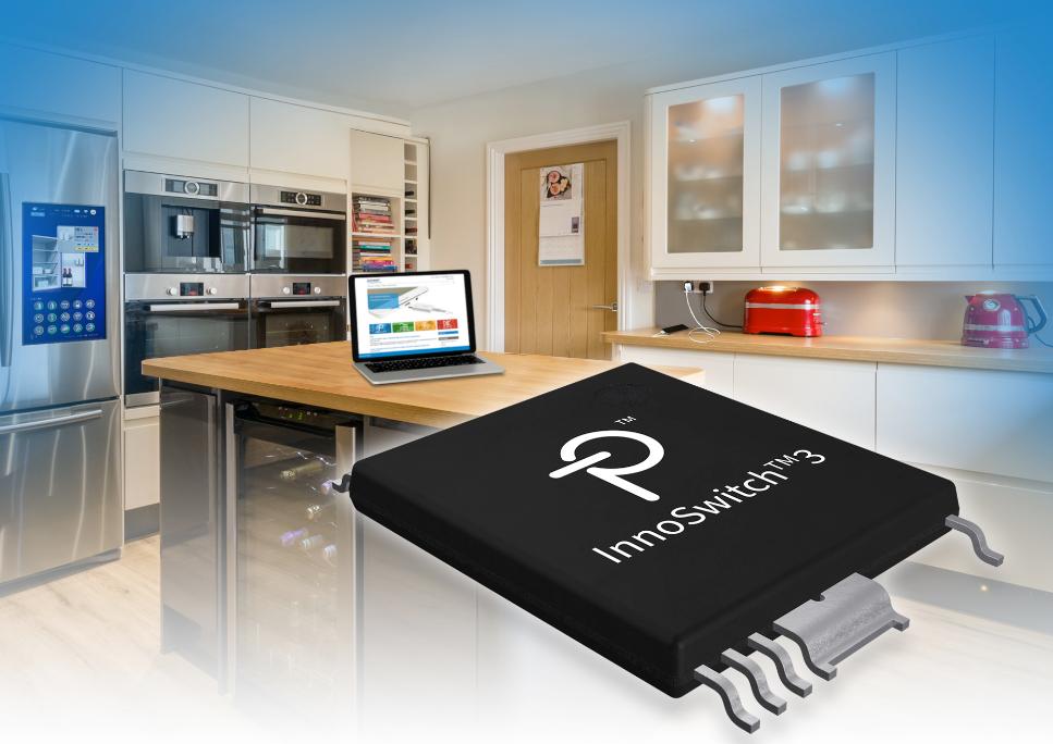 Power Integrations发布InnoSwitch3系列高效率(94%)离线 反激式开关电