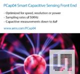 艾迈斯半导体新的PCap04智能电容式传感前端