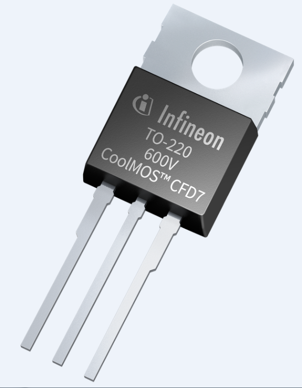 600 V CoolMOS? CFD7 SJ MOSFET將性能提升到全新水準