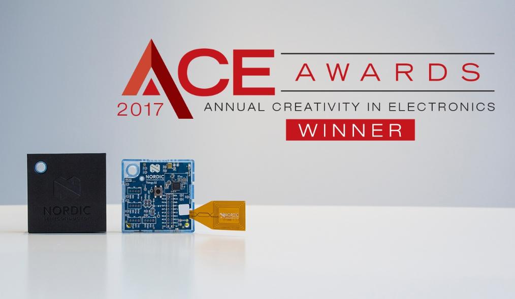 """Nordic Thingy: 52 IoT传感器套件荣获全球""""年度电子创意奖"""""""