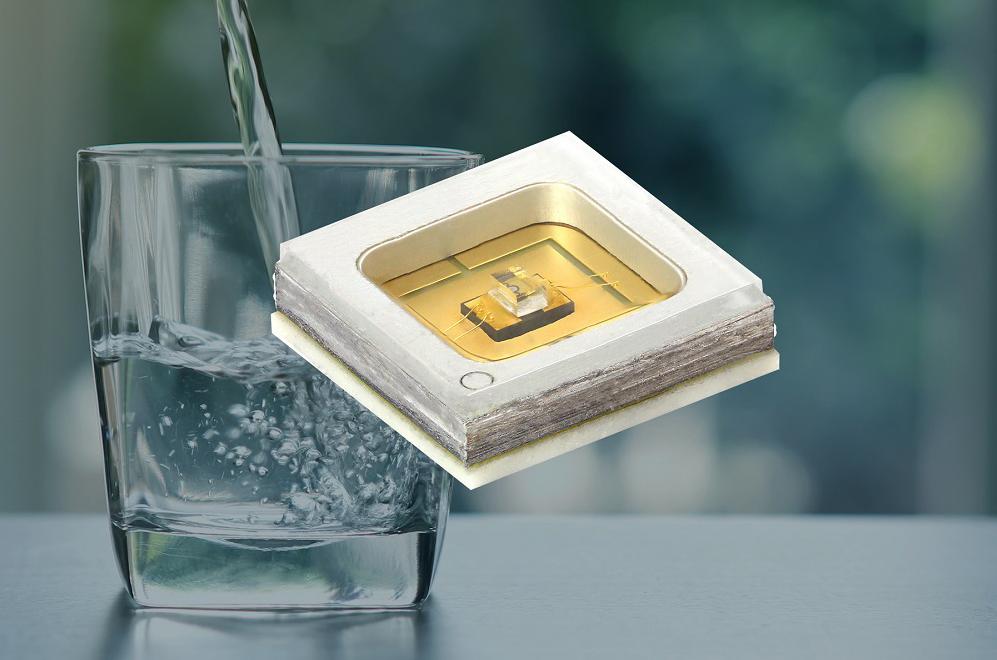 Vishay新款UVC發光二極管采用陶瓷/石英 基材,具有超長壽命