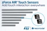 ST助力NeoNODe为任意物品、表面或空间增加触控交互功能