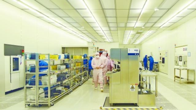 中车时代电气第三代功率半导体器件生产线建设见闻