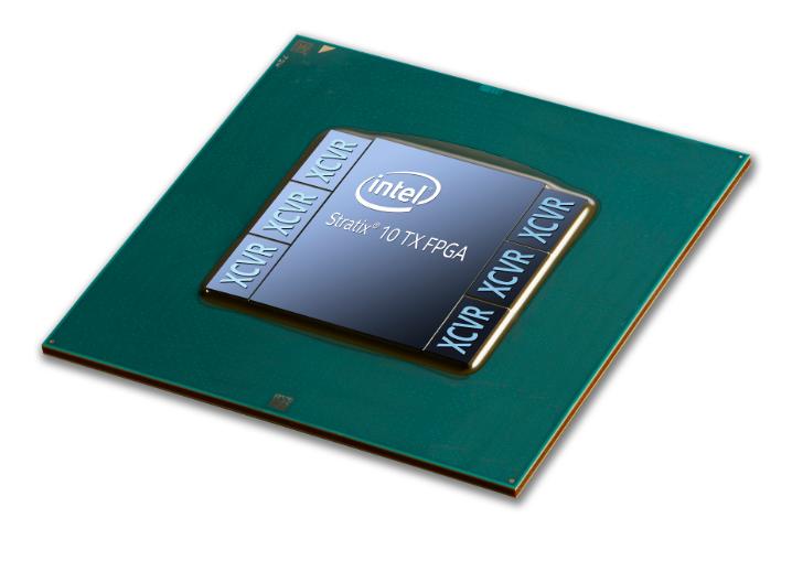 英特尔发售业内首款基于 58G PAM4 技术的 FPGA