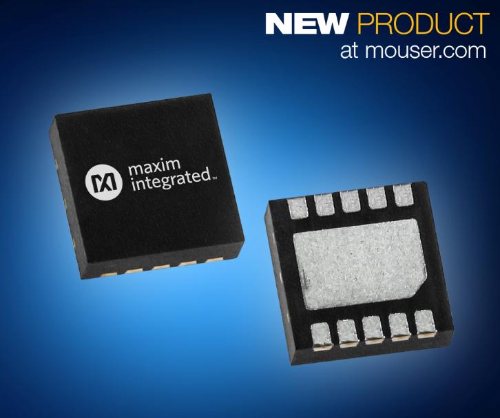 贸泽电子开售Maxim Integrated MAX2250xE 收发器提供精准运动控制