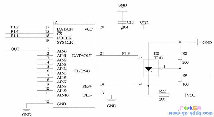 基于89C51单片机串行A/D驱动程序的设计