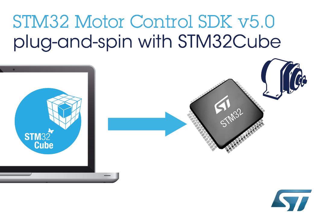 ST新STM32软件开发工具套件让电机控制设计更快、更容易